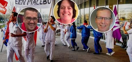 Dit is waarom ziekenhuismedewerkers Erik, Ria en Pieter vandaag staken