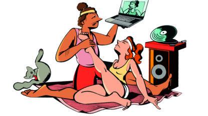 Beat the lockdown: 5 tips voor thuis-yoga