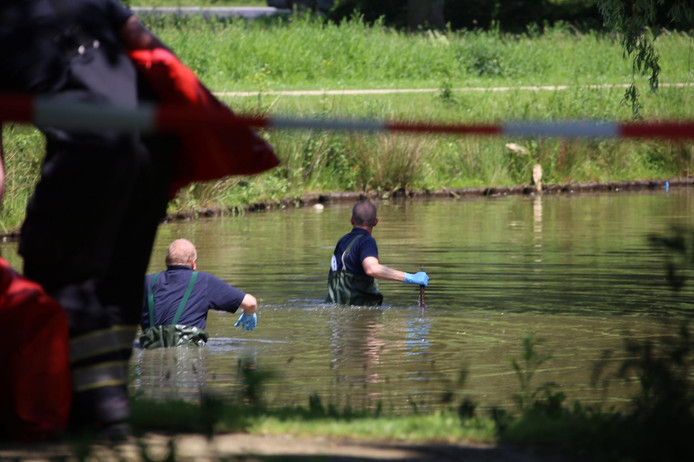 Een 46-jarige vrouw is in het water gevonden