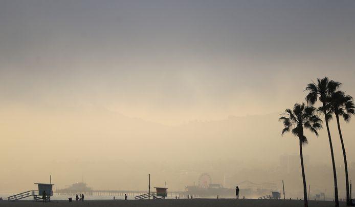 Venice Beach, vidée de ses touristes.