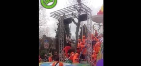 Spectaculaire act van 'Yuri van Gelder' bij optocht Berkel-Enschot verovert internet