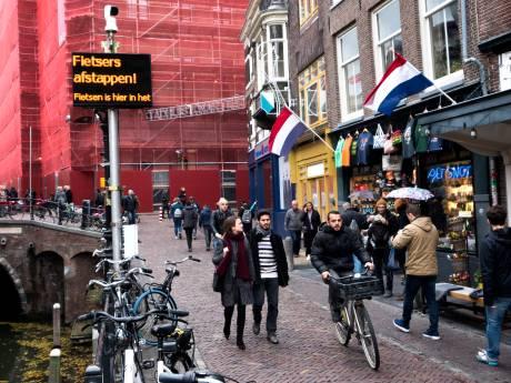 Fietsverbod Vismarkt en omgeving is mislukt, Utrecht broedt op nieuw plan