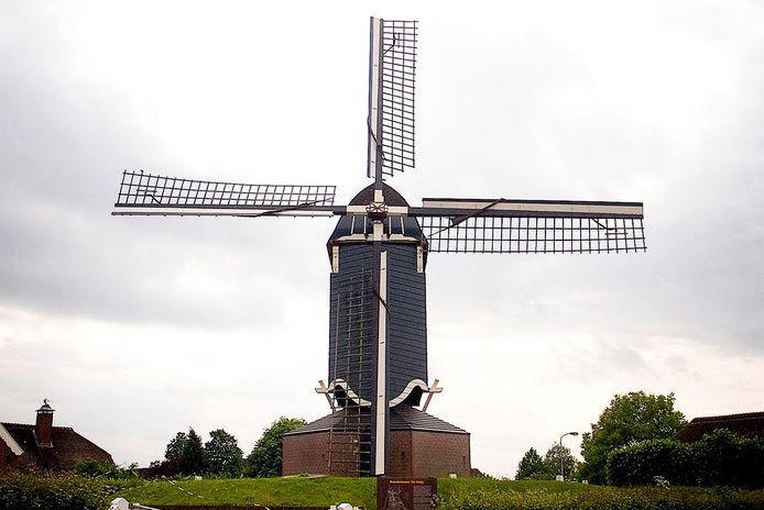 Standerdmolen De Haag in Beuningen.
