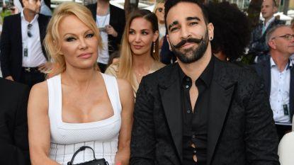"""Relatie tussen Pamela Anderson en """"monster"""" Adil Rami is voorbij: """"Hij heeft me vaak bedreigd"""""""