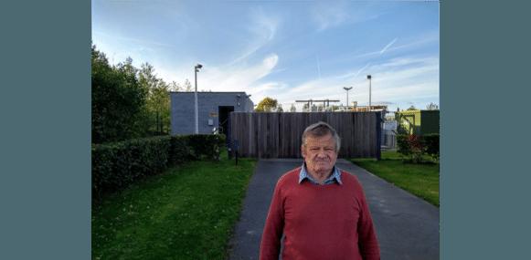 """Raadslid Luc Caenepeel (Gemeentebelangen): """"Kunnen er extra waterbuffers worden aangelegd?"""""""