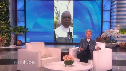 Oprah Winfrey's buurt werd bedolven onder een modderstroom, bij Ellen DeGeneres Facetimet ze over de stand van zaken