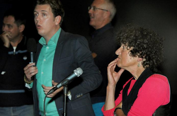 Filmmaakster Digna Sinke (rechts).