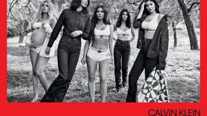 Raf Simons strikt opnieuw alle Kardashian-zussen voor lingeriecampagne