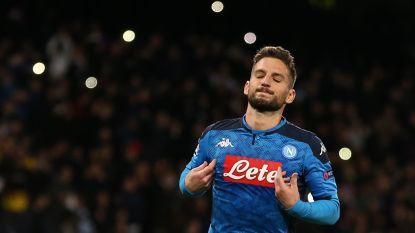"""Het madeliefje in het contractdossier van Dries Mertens: """"Zijn einde bij Napoli nadert"""""""