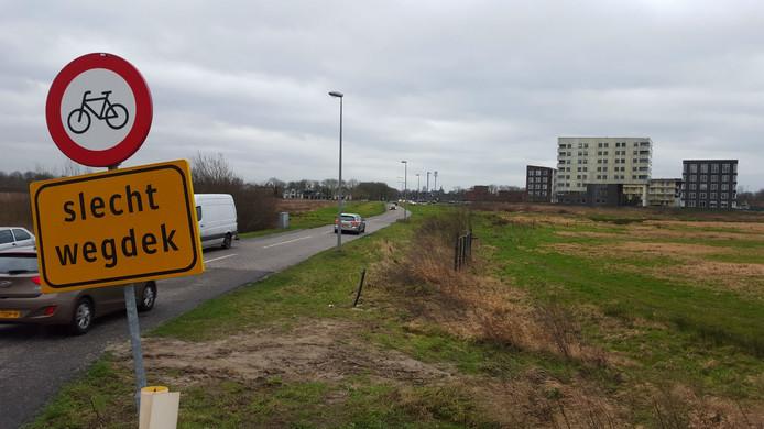 De herinrichting van de Vlietdijk kost ruim 4 ton.