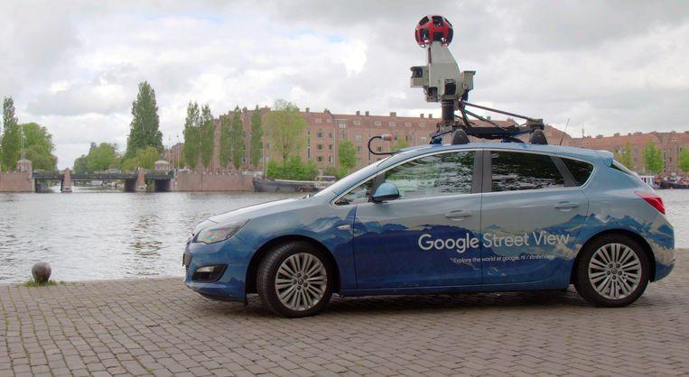 Een Google Street View-auto kan nu ook de luchtkwaliteit meten Beeld null