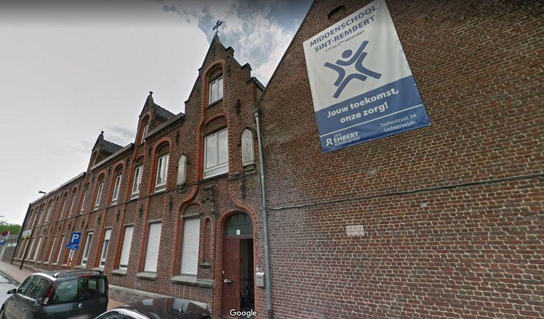Het voormalige kloostergebouw in de Statiestraat in Lichtervelde wordt een KIDZ-kinderopvang.