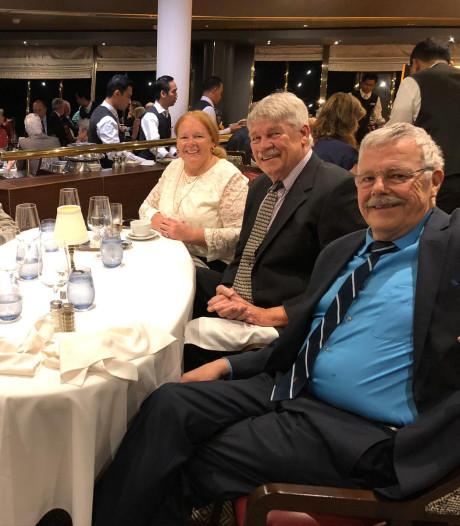 Alphense Cil Wigmans (70) weer thuis na dagenlange opsluiting op corona-cruiseschip: 'We speelden maar een potje Triviant'