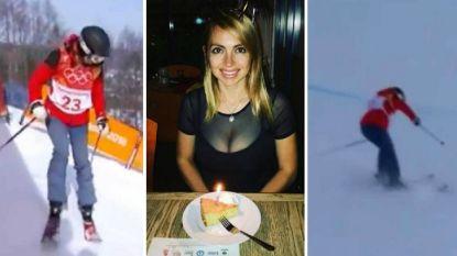 Iedereen winterolympiër? Hongaarse 'freestylester' doet niet eens één trick in halfpipe en kan zelfs niet goed skiën
