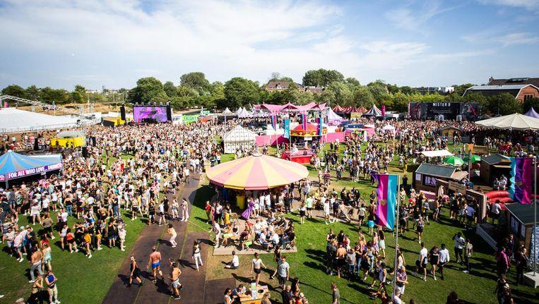 Festival Milkshake in het Westerpark Beeld ANP