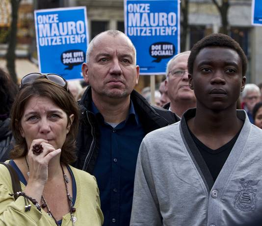 De Angolese asielzoeker Mauro kwam uiteindelijk in aanmerking voor het kinderpardon.