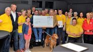 Eerste pastakaarting brengt 8.572 euro voor Somival op