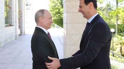 Poetin en Assad ontmoeten elkaar in Sotsji