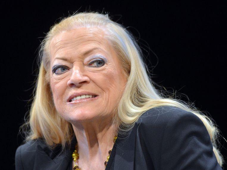 Ekberg in 2013 op het Filmfestival Berlijn. Beeld EPA