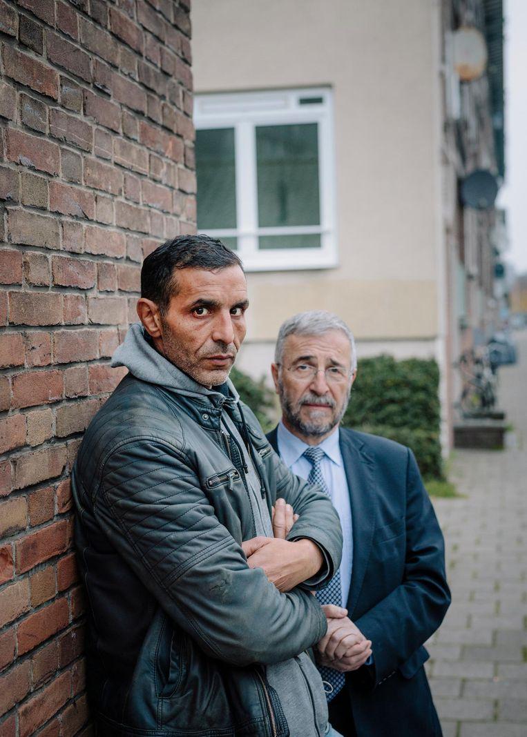 Saïd Bensellam (links) en Lody van de Kamp Beeld Marc Driessen
