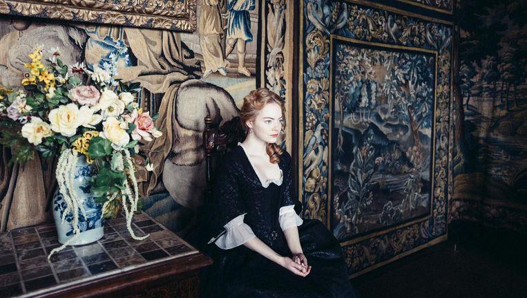 Emma Stone als het gevallen adelmeisje Abigail Beeld -