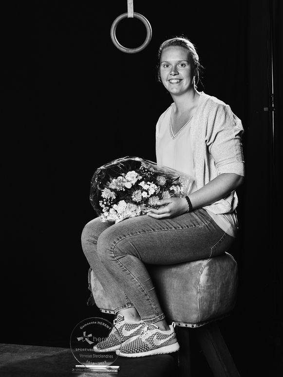 Vanessa Sterckendries is sportvrouw van het jaar in Herent