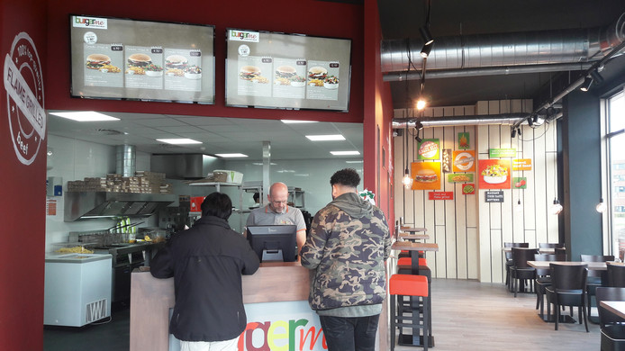 Hamburgerrestaurant Burgme in het Paleiskwartier