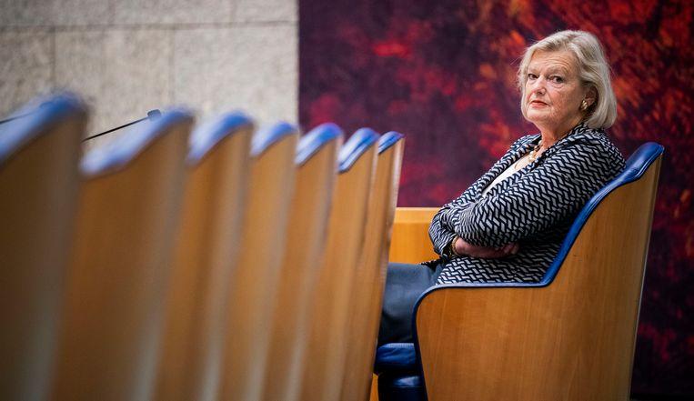 Staatssecretaris van Justitie en Veiligheid Ankie Broekers-Knol. Beeld Freek van den Bergh