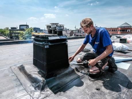 Hitte in de Achterhoek: tropenrooster op school en dakdekkers vrij