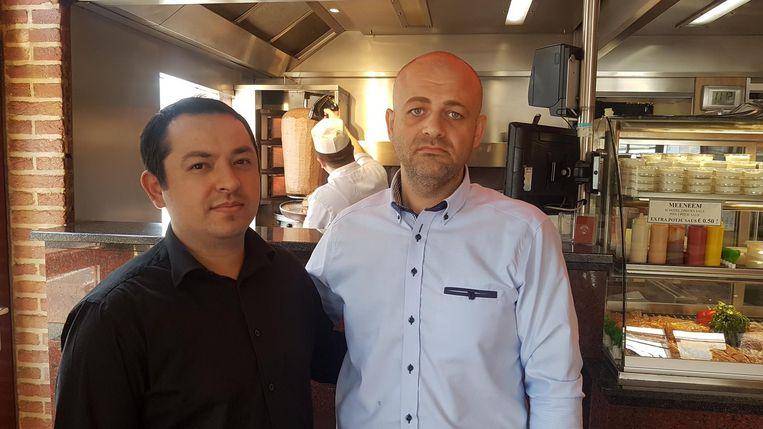 Yakup Ilisiz en zijn kok Mehmet waren op het moment van de aanslag nog aanwezig in pitabar Mevlana.