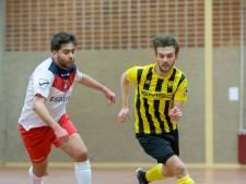 Zaalvoetballers BE '79 blijven in eerste divisie