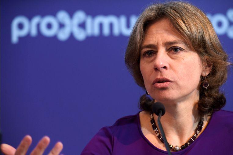 Proximus-CEO Dominique Leroy.