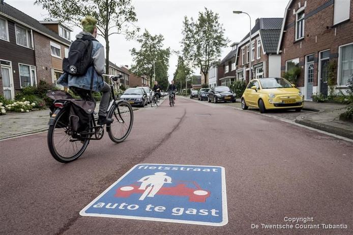 De Pijlhovestraat in Enschede