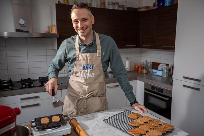 Arjen, de Vlaardingse deelnemer van Heel Holland Bakt.