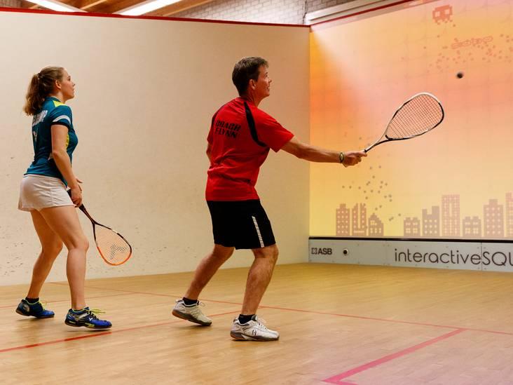 Interactieve squashbaan geopend in Alphen