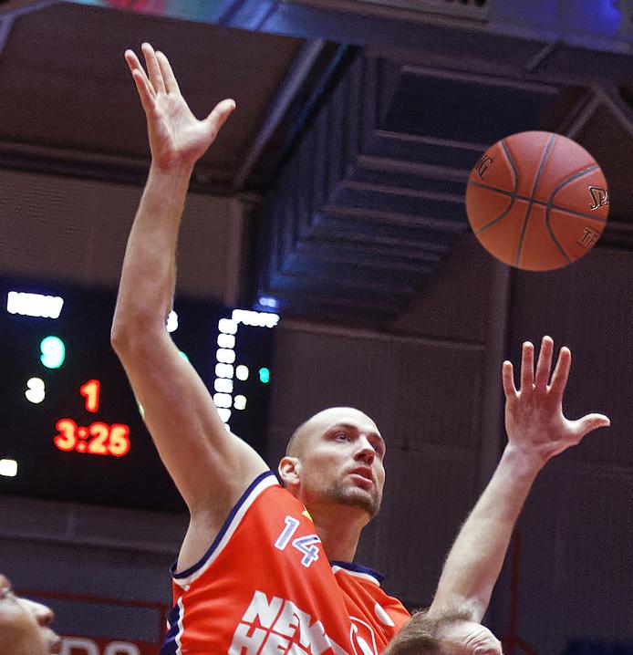 Nick Oudendag in actie.