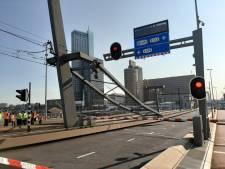 Fietsers en voetgangers kunnen weer over de Erasmusbrug