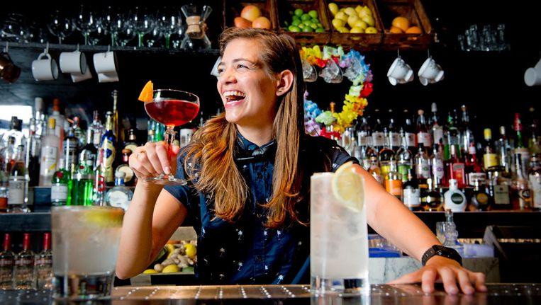 De bar, genaamd Flying Dutchmen Cocktails, gaat half december open. Beeld anp