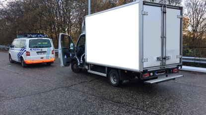 Albanese trucker (47) met niets in orde