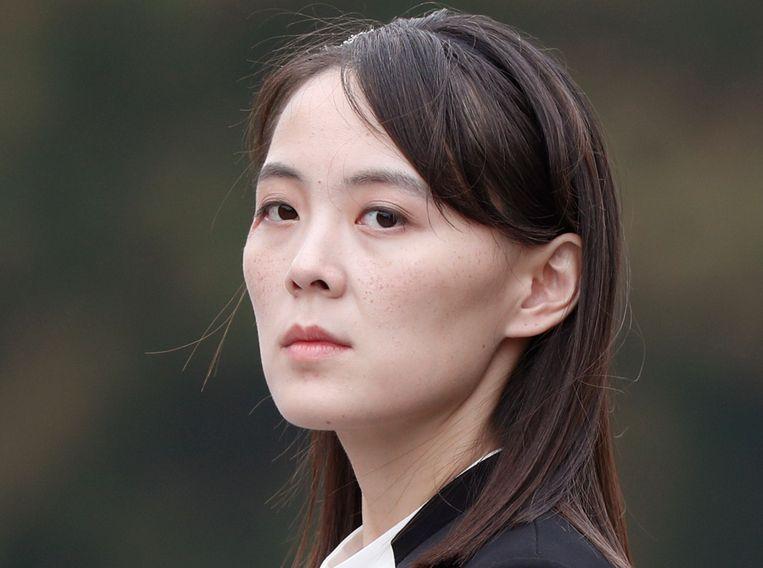 Kim Yo-jong.  Beeld AP