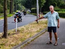 Bewoners 'levensgevaarlijke' Rijksstraatweg in Twello willen actie van gemeente en provincie na zoveelste ongeluk