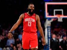 Harden schiet met 61 punten clubrecord Houston Rockets aan flarden
