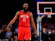Harden schiet met 61 punten clubrecord Rockets aan flarden