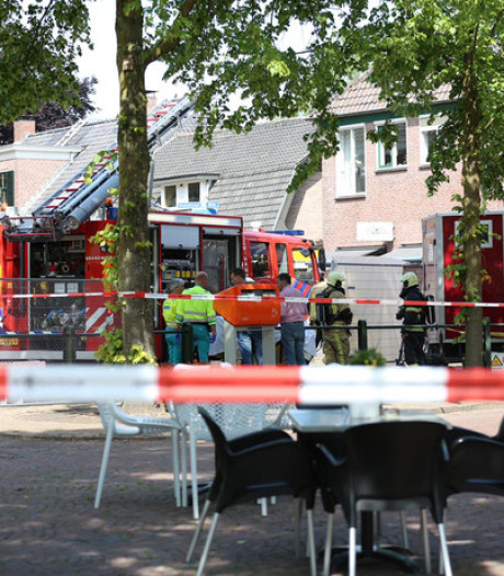 Slachtoffer schoorsteenongeluk Den Ham heeft zwaar beenletsel, maar is buiten levensgevaar