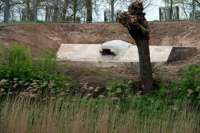 Een van de kazematten van de Nieuwe Hollandse Waterlinie.