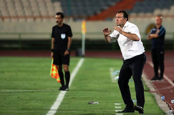 Nu is Marc Wilmots coach van het nationale elftal van Iran.