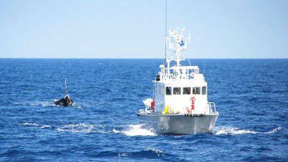 Aanvaring tussen Noord-Koreaanse vissersboot en patrouilleschip voor kust Japan