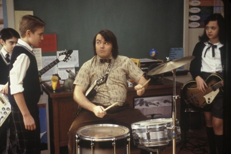 Jack Black in 'School of Rock'.