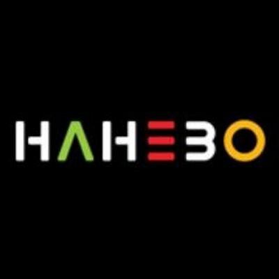 Het logo van Hahebo.