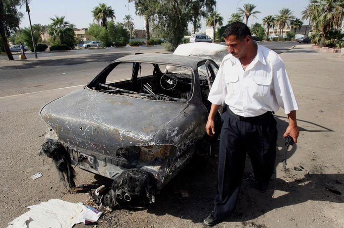 Bij het bloedbad op het Iraakse plein vielen 14 doden.